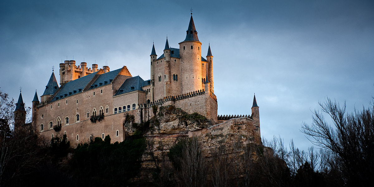 Alcazar de Segovia one of the spots to photograph on the Ambient Light Spain Tour